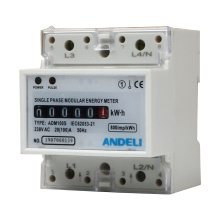 ADM100S KWH single phase digital energy meter 1.5-6A ANDELI