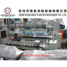 Ligne de granulation en plastique de HDPE LDPE de déchets DKSJ-140A / 125
