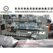 Waste HDPE LDPE Plastic Pelleting Line DKSJ-140A/125