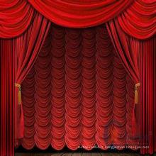 Tissu rideau de scène Chine 2014 attrayant