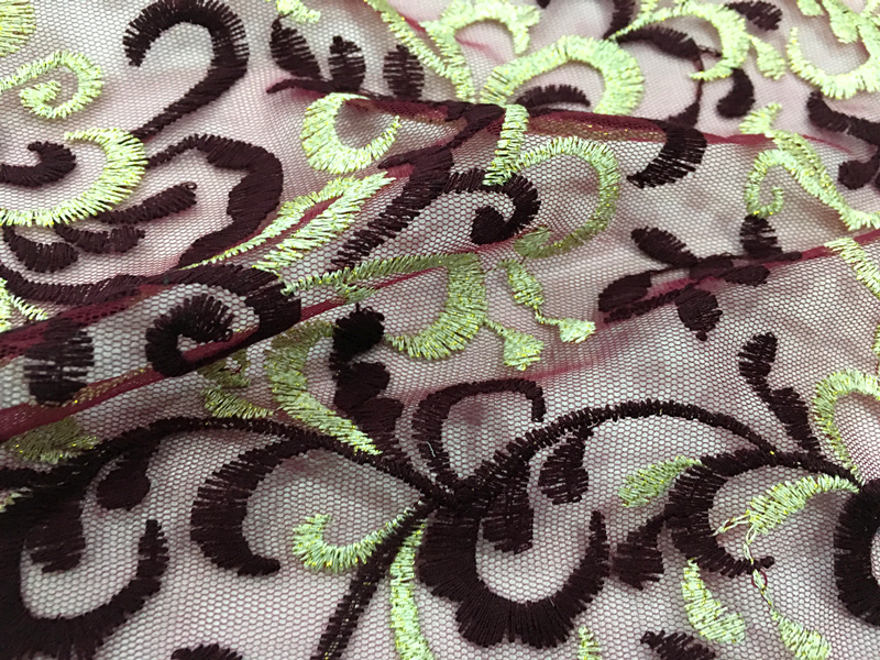 Ladies Dress Embroidery Fabric