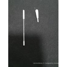 Écouvillon floqué pour prélèvement d'échantillons nasaux