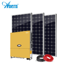 Anern 10kw 20kw on grid solar system with MPPT inverter