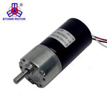 motor de engranaje de corriente continua de bajo par de baja tensión y baja fricción sin escobillas