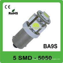 Heißer Verkauf 5pcs 5050 SMD DC12V Ba9s führte Lampe