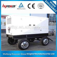 Vier Räder Anhänger Diesel-Generator