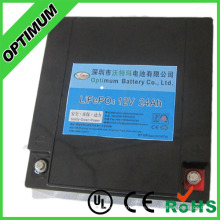 High Energy 12V 24ah LiFePO4 Battery for Solar