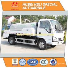 Japan technology 4x2 4000L sewer dredge truck 120hp engine good quality