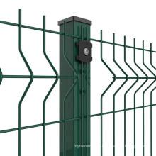 Amazon Vidaxl UK Mesh 50X200mm Wire 4mm Powder Coated Galvanized Curved Wire Fencing (WF)