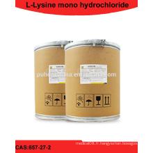 Poudre de chlorhydrate de L-Lysine avec AJI92 USP24 EP6 GB2009