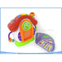 Clock Lernspielzeug für Kinder Intellektuelles Lernen