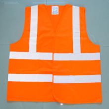 Polyester-Hoch sichtbare PVC-Sicherheits-Weste mit En471-Zertifikat