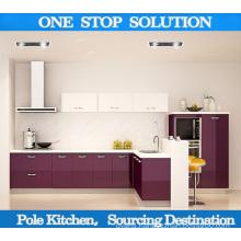 MDF High Gloss UV Kitchen Cabinets