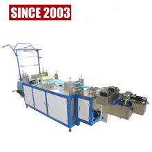 Top Manufacturer Nonwoven Bouffant Clip Cap Making Machine With Packing