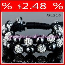 high quality bracelet shamballa