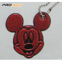Hi-Vis PVC Sheet Red Mickey colgante para estudiante
