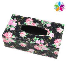 Creative Rectangle Leather Tissue Box (ZJH071)