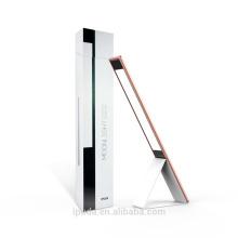 IPUDA USB ajustable de oficina con iluminación táctil Sensor LED Único diseño moderno fácil de almacenamiento con luz LED recargable de mesa 6W