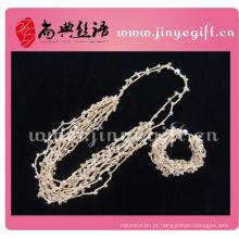 Colar de Leopardo de Cristal de Diamantes Shangdian