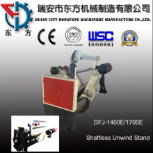 Shaftless Unwinding Stand for Sheeting Machine