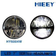 IP67 led headlight for big truck DOT Approval led headlight 12/24V led round 7 inch headlamp for jeep wrangler