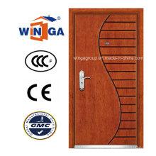 Estilo Artístico Winga Security Steel MDF Venever Armored Door (WA-9)