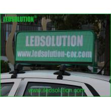 Affichage à LED polychrome supérieur de taxi P5 de Ledsolution Withdouble visages