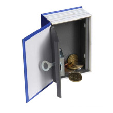 Superior Quality Mini Metal Secret Coins Dictionary Shape Book Safe  Box for Kids
