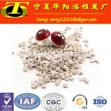 Natural zeolite clinoptilolite powder