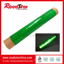 Rolls reflective PVC sheet for cone sleeve