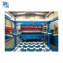 Trapezoidal Roof Glazed Tile Panel Roll Forming Machine