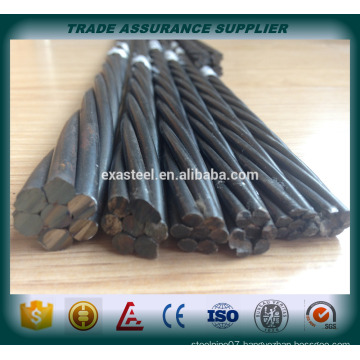 China high quality 12.7mm pc strand manufacturer