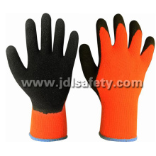 Acrylic Work Glove with Black Natural Latex Coating (LY2026T)