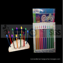 New Style Magic Colored Flame Candles