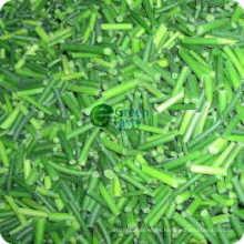 Nuevos cortes de brotes jóvenes de ajo congelados IQF