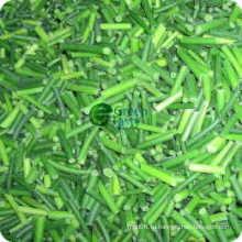 Новый урожай IQF Замороженные молодые чесночные побеги чеснока