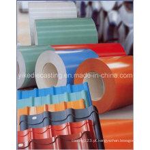 Material de construção de chapa de aço galvanizado PPGI