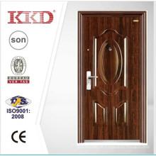 Precio doble puerta puertas de acero KKD-522D puerta de entrada principal