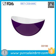 Premier Purple Outside White Inside Lightweight Serving Bowl
