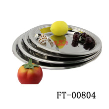 Stainless Steel Pastry Sever Tray (FT-00804)