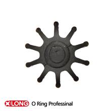 Pump Seal Vane Wheel, NBR Material, Schwarz
