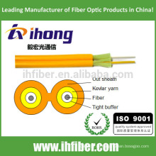Optische Faser Duplex Zipcord Indoor Cable (GJFJV)
