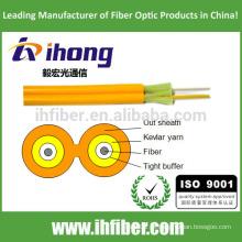 Fibra óptica Duplex Zipcord cabo interior (GJFJV)