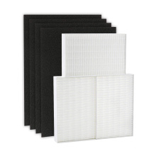 TRUE HEPA replacement filter 3 kits including 4 pre-cut activated carbon pre-filters for hpa300