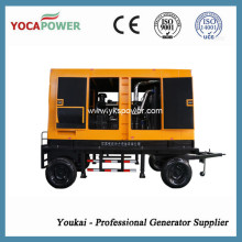 Water-Cooled Electric Soundproof Diesel Generator Mobile Power Generation