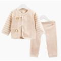 Conjunto de ropa interior de algodón orgánico conjunto de paño de bebé