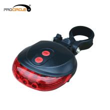 Кнопка контроля заряда батареи LED безопасности велосипеда задний свет