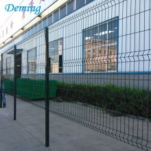 Metalen panelen Poedercoating Curve Triangle Bending Fence