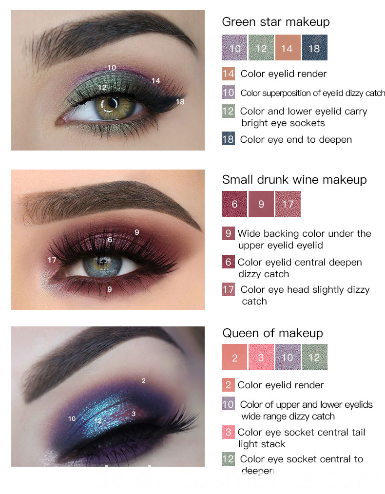 18 Color Eye Shadow 11