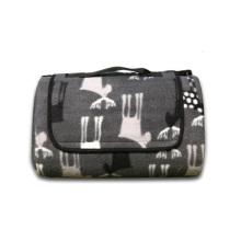 Attractive Design Picnic Time Outdoor Picnic Blanket Tote